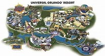 Map Of Universal Studios Florida Hotels | Printable Maps