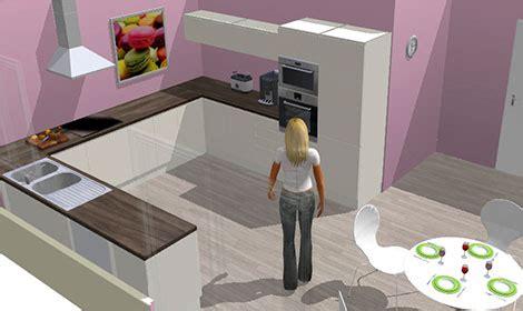 dessiner une cuisine en 3d gratuit cuisine simulation cuisine en image
