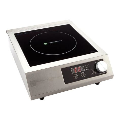 Induction Cooktop by Home Pro Portable Induction Cooktop Rwt0095 1800w 120v