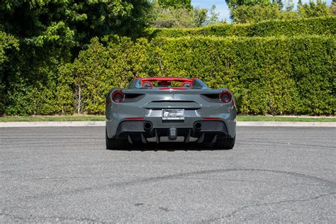 Even inside, you won't see the bows and hinges both the ferrari 488 spider and the ferrari 488 gtb are backed by amazing warranties and complimentary maintenance. Ferrari 488 Spider Grey - Centurion Lifestyle