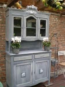 Patiner Un Meuble En Blanc : table et chaises de terrasse meuble patine ~ Dailycaller-alerts.com Idées de Décoration