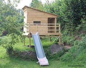 Spielhaus Garten Mit Rutsche : 2 spielhaus mit rutsche selber bauen spielhaus ~ Watch28wear.com Haus und Dekorationen