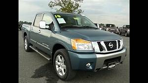 Used Truck Maryland For Sale 2010 Nissan Titan Le 4wd Crew