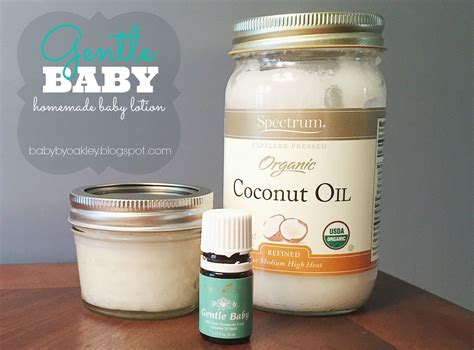 Gentle Baby Homemade Baby Lotion Using Gentle Baby From