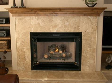 travertine tile fireplace surround fireplace design ideas