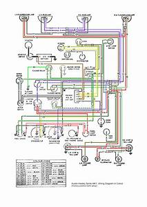 Electrical Modifications For A Bugeye Sprite Wiring Diagram