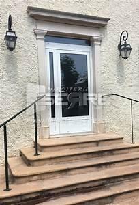 Porte D Entrée Vitrée Aluminium : etude et fabrication porte d entr e vitr e en aluminium ~ Melissatoandfro.com Idées de Décoration