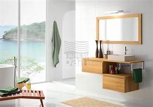 Meuble Sous Vasque Suspendu : meubles de salle de bains suspendus bois collin arredo ~ Dailycaller-alerts.com Idées de Décoration