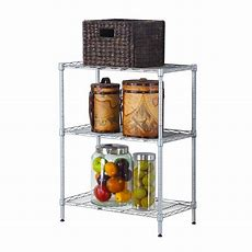 3 Tier Shlef Rack Office Shelving Kitchen Microwave Oven