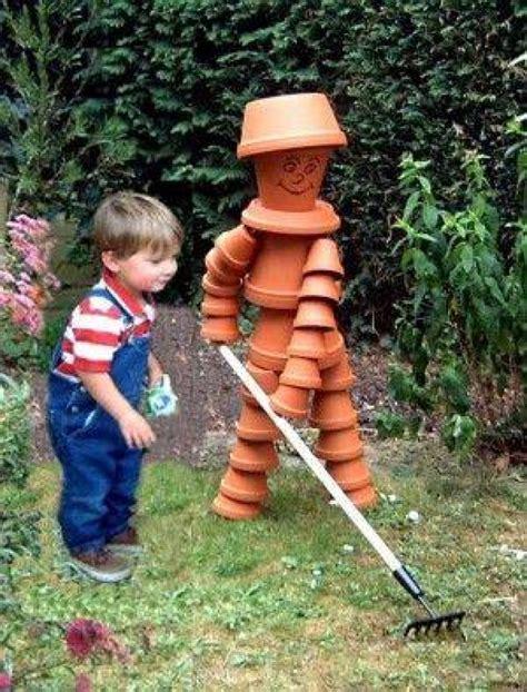 Fabrication Bonhomme En Pot De Terre by Un Tuto Et 24 Photos Pour R 233 Aliser Vos Sculptures En Pot