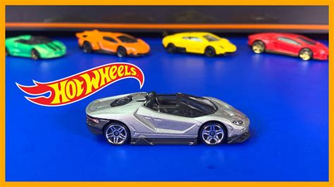 hot wheels lamborghini centenario roadster review  hand