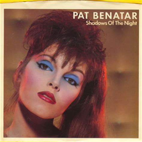 pat benatar shadows of the 3 40 b w the victim 4 41 7 inch 45 record 1982 us 7 45