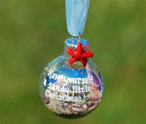 decorate  beach themed christmas tree  ornament