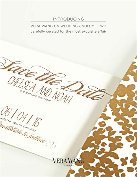 VeraPapers On Weddings Volume Two from Crane & CO