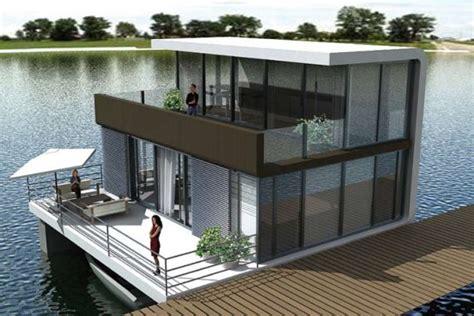 Boat Song Designer Studio Kottayam by Floating Homes By Waterstudio Contemporist
