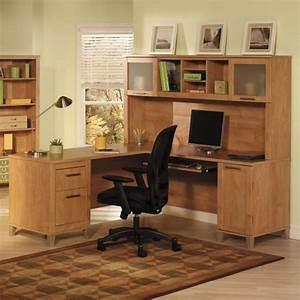 Bureau D Angle En Bois : un bureau informatique d 39 angle quel bureau choisir pour votre petit office ~ Melissatoandfro.com Idées de Décoration
