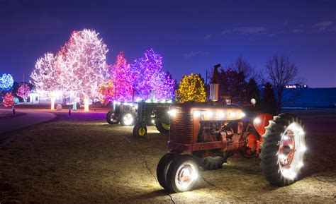 grandlite company christmas lights 10 most festive cities in the us for christmas the voyaging