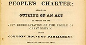 William Cuffay: 1778 - 1870: Peoples Charter – May 1838