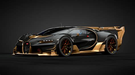 Posted by admin posted on december 04, 2018 with no comments. Gold Bugatti Vision Gran Turismo - Supercars Gallery