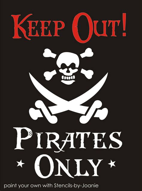 Pirate Arts And Crafts Printable