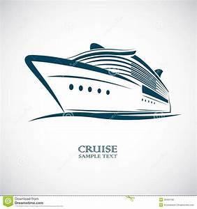 Cruise Ship Stock Vector - Image: 39484190