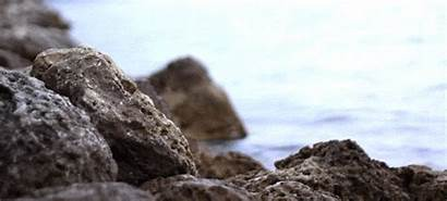 Rock Ocean Animated Rocks Water Summer Beach