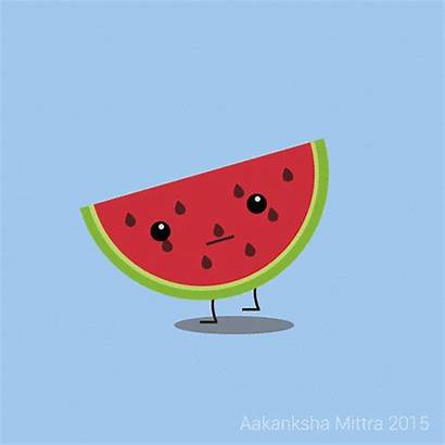 Watermelon Fruits Animated Clipart Among Fruit Watermelons