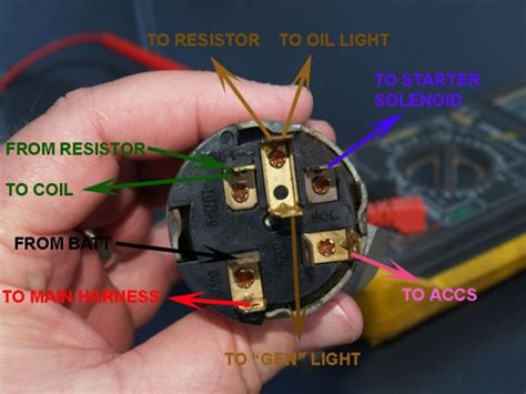 chevy ignition switch wiring diagram
