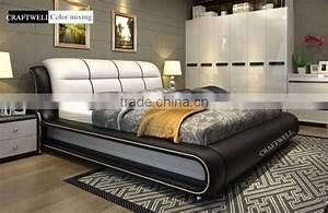 Pu Leather Bed Frame Turkish Wedding Bedroom Bad Room