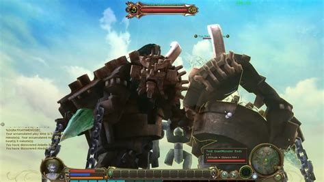 Aion Shadow Of Colossus Monster Youtube
