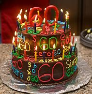 Happy 60th Birthday Cake