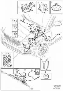 Volvo Xc40 Wiring Harness  Cable Harness Engine