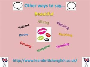 Learn English: ... Beautiful Synonyms