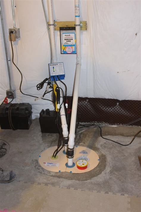 Basement Waterproofing   Des Moines, Iowa Sump Pump