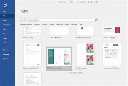 Brochure Word Microsoft Template Templates Ms Lifewire