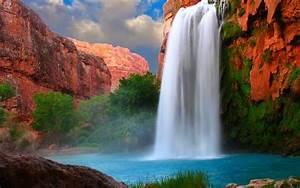 Havasu, Falls, Arizona, Usa, Wallpaper