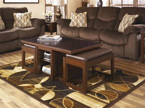 Ottoman With Stools Underneath by Coffee Table With Stools Underneath Loccie Better Homes