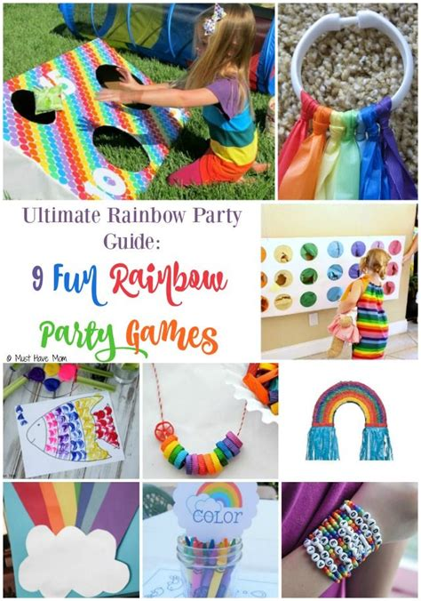 ultimate guide  throwing  rainbow party rainbow