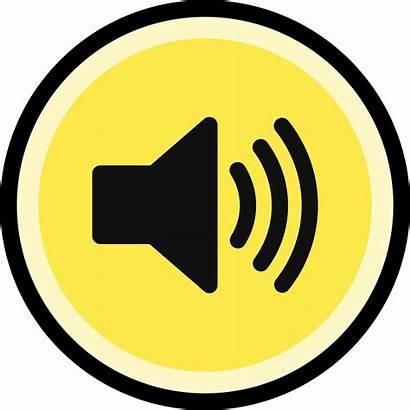 Sound Button Clipart Volume Effect Symbol Icon