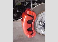 Painted Brake CalipersFinally! The