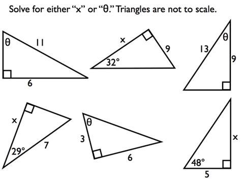 right triangle trigonometry lesson