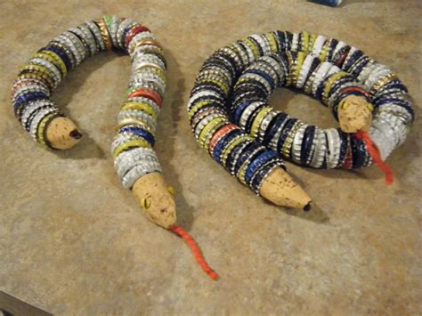 crafts   recycled bottle caps upcycle art
