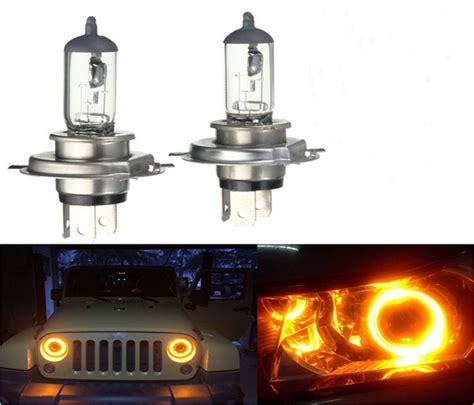 halogen h4 t10 xenon bulb 6000k 12v 55w lamp headlight headlights 2x