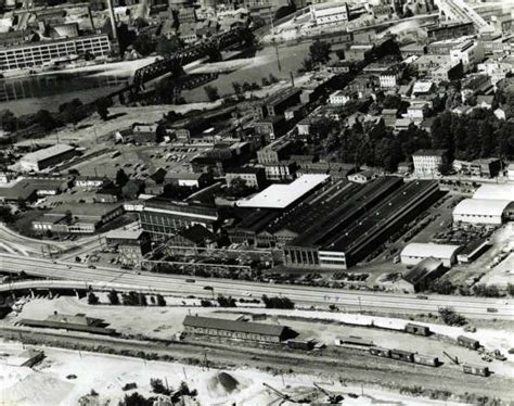 The Old Farrel Plant In Derby, Where Home Depot Is Today