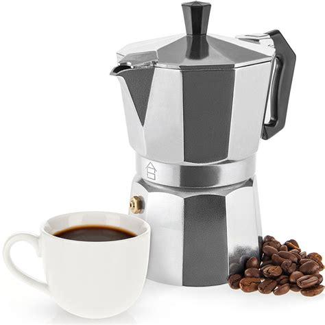 Coffee percolator moka pot stove top italian style espresso maker. Savisto Espresso Maker 3 Cup Italian Stove Top Coffee Percolator Best Moka Pot | eBay