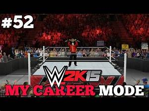 """""""THE GREATEST MATCH OF ALL TIME""""   WWE 2K15 My Career Mode ..."""