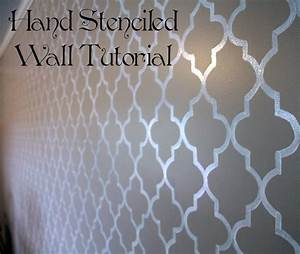 Free wall stencils video search engine at searchcom for Paint templates for walls