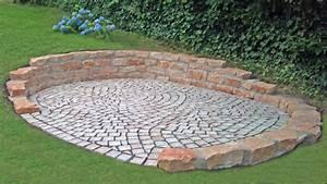 Garten Leichte Hanglage : kleinpflaster mit bruchsteinmauer ~ Whattoseeinmadrid.com Haus und Dekorationen