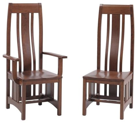 mission dining room chair craftsman dining chairs