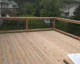 Who Owns The Deck Company The Dangers Of A Poorly Built Deck Iron River Construction
